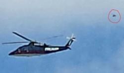 Donald Trump's Chopper Followed by UFO